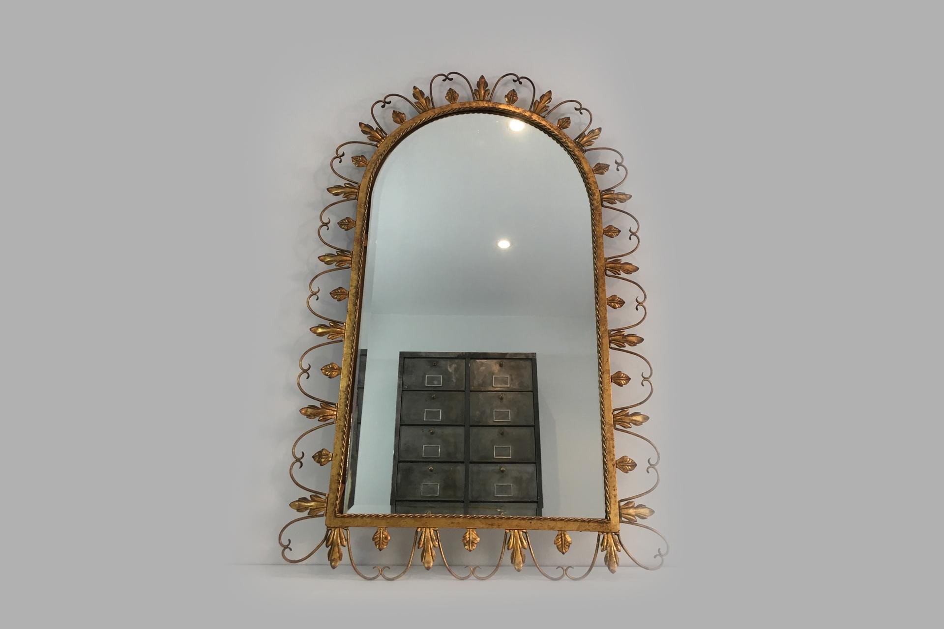 Altın Ferforje Ayna Modeli