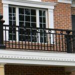Amerikan Ferforje Balkon Korkuluk Modeli