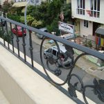 Balkon Ferforje Duvar Korkuluk Modeli