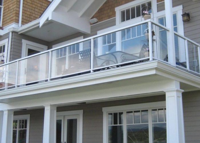 Cam Ferforje Balkon Korkuluk Modeli