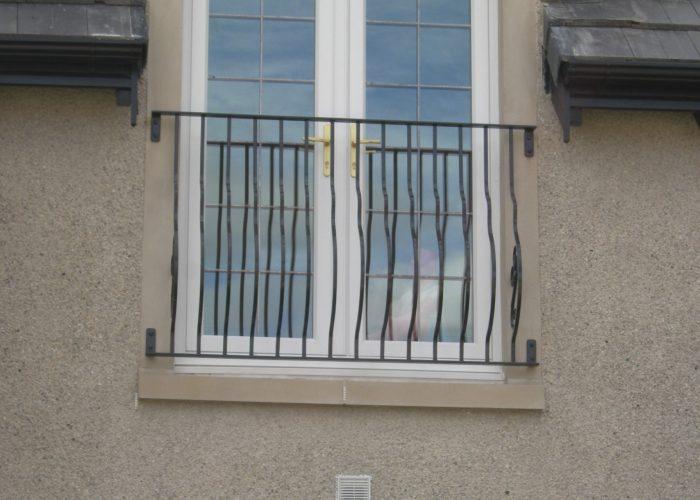 Dayanıklı Ferforje Pencere Korkuluk Modeli