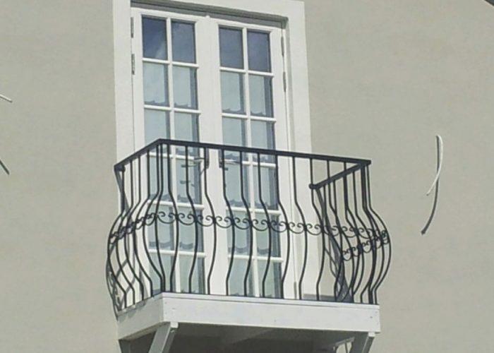Desenli Ferforje Pencere Korkuluk Modeli