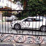 Bahçe Ferforje Garaj Kapısı