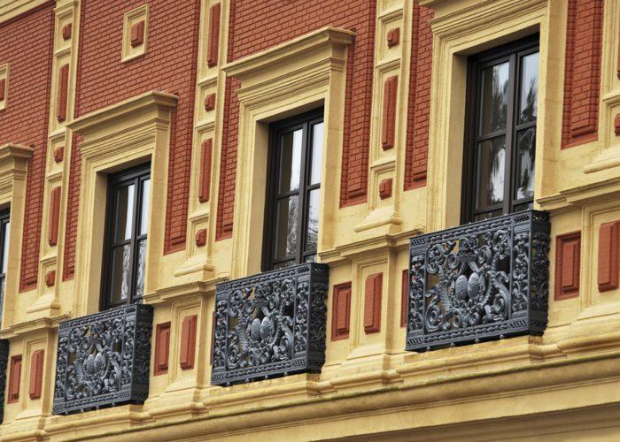 Mimari Ferforje Pencere Korkuluğu