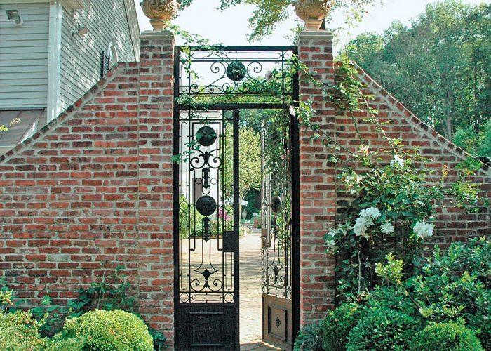 Misafir Ferforje Bahçe Kapısı Modeli