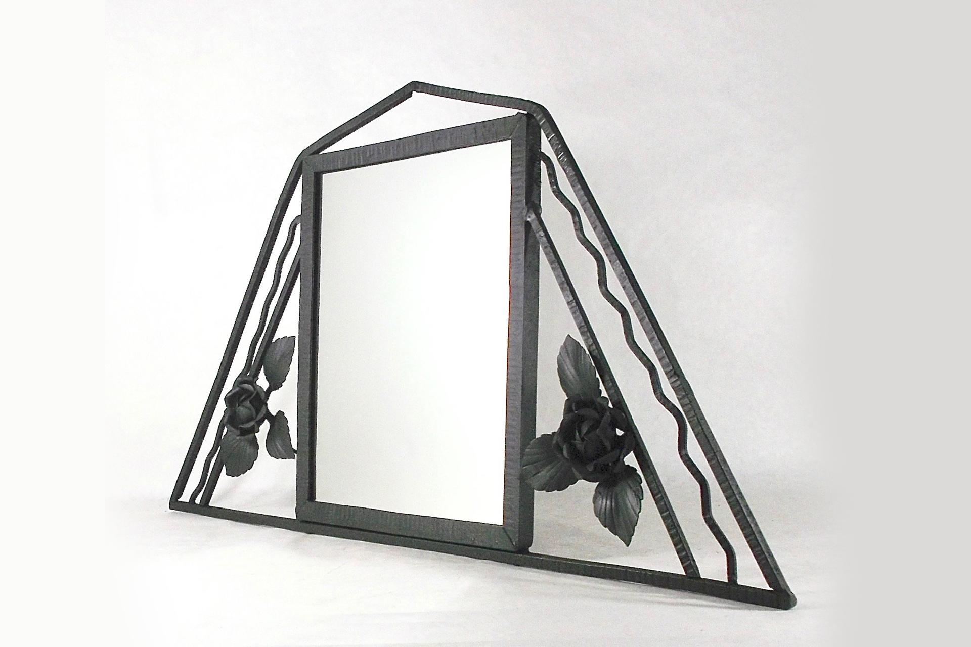 Özel Ferforje Ayna Modeli
