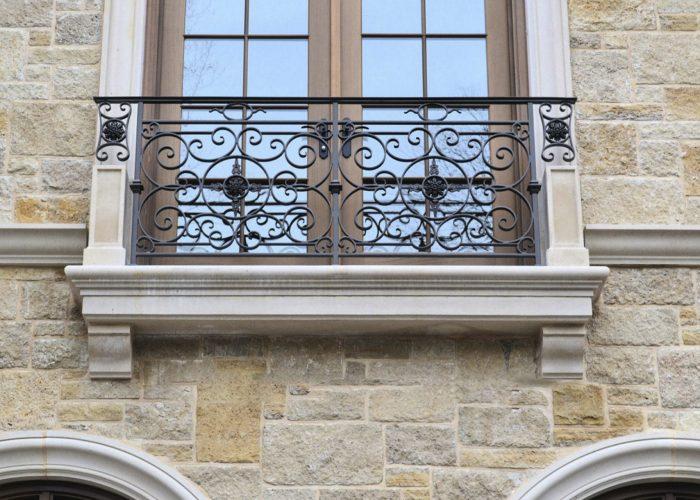 Özel Tasarım Ferforje Pencere Korkuluk Modeli