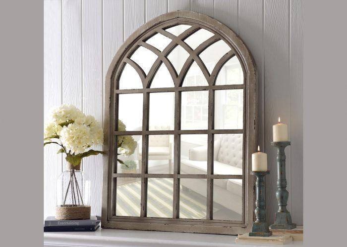 Pencere Ferforje Ayna Modeli