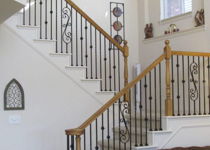 Şekilli Merdiven Korkuluğu Modelleri