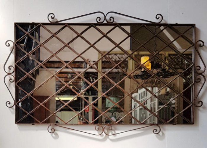Tasarım Ferforje Ayna Modeli