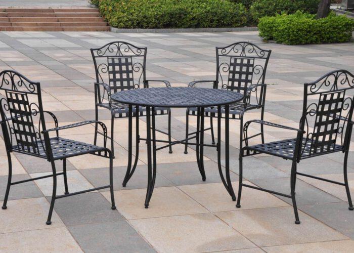 ekose-tasarimli-ferforje-masa-sandalye